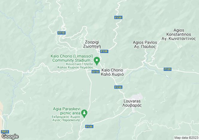 Map for Kalo Chorio, Limassol