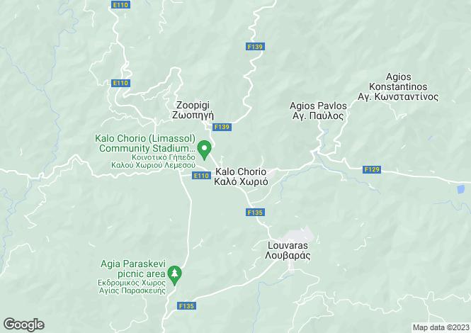 Map for Limassol, Kalo Chorio
