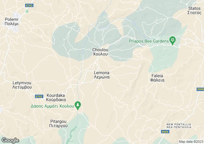 Map for Lemona, Paphos