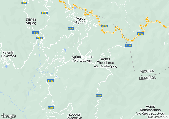 Map for Limassol, Agios Ioannis
