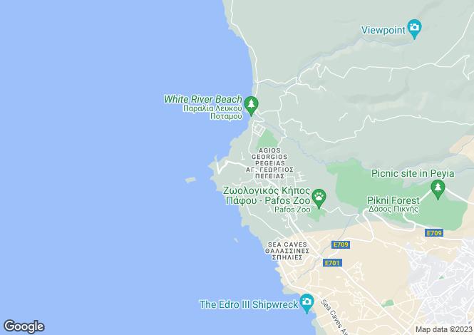 Map for Paphos, Agios Georgios