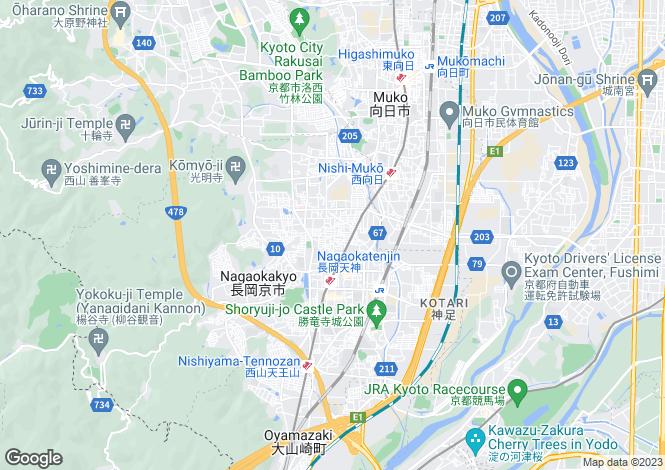 Map for Niigata, Nagaoka