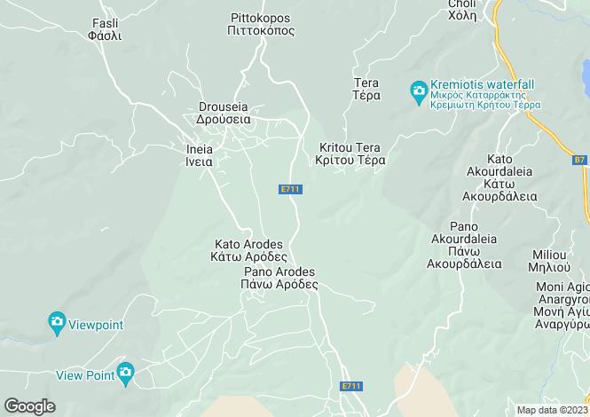 Map for Kritou Tera, Paphos