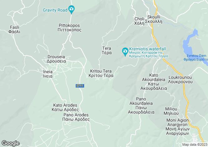 Map for Kritou Terra, Paphos
