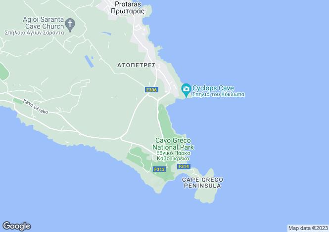 Map for Cape Greko