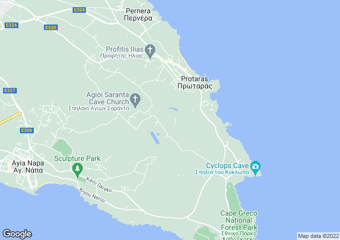 Map for Ayios Elias