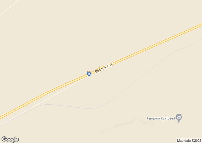Map for California, San Bernardino County, Newberry Springs