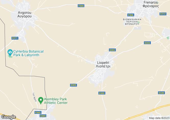 Map for Liopetri