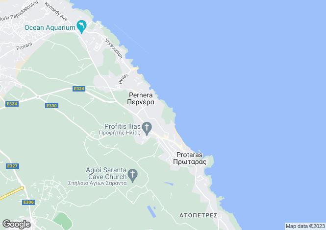 Map for Protaras