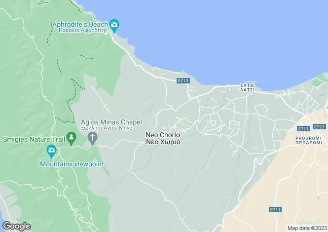 Map for Neo Chorio - Polis - Cyprus