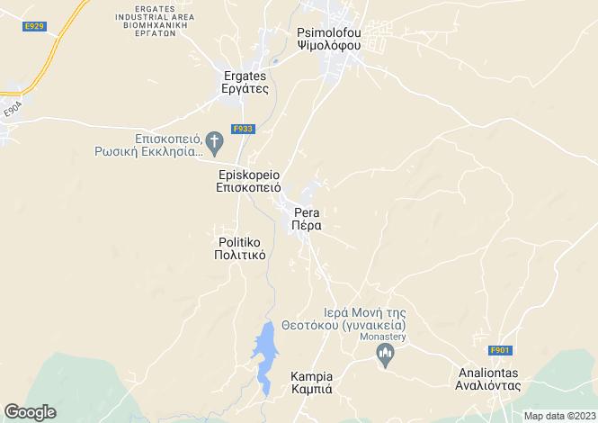 Map for Pera Orinis, Nicosia