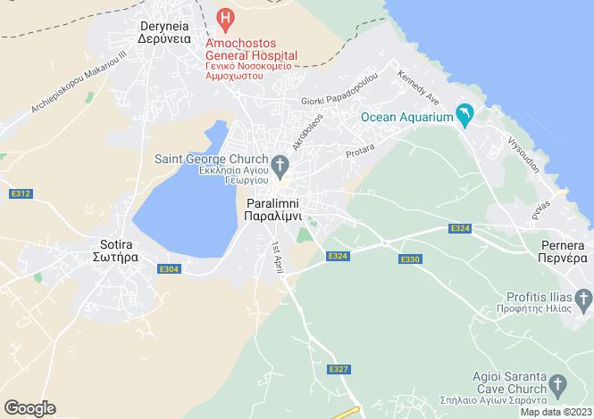 Map for Paralimni