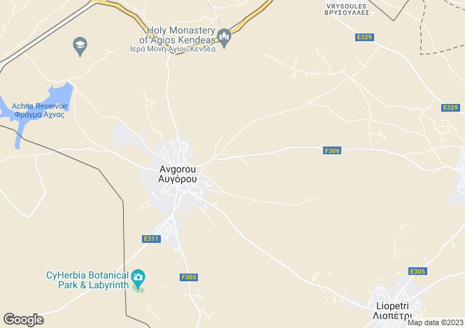 Map for Avgorou