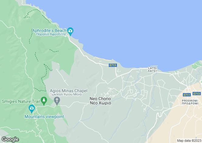 Map for Neo Chorio, Paphos