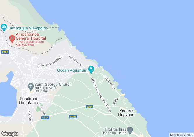 Map for Ayia Triada