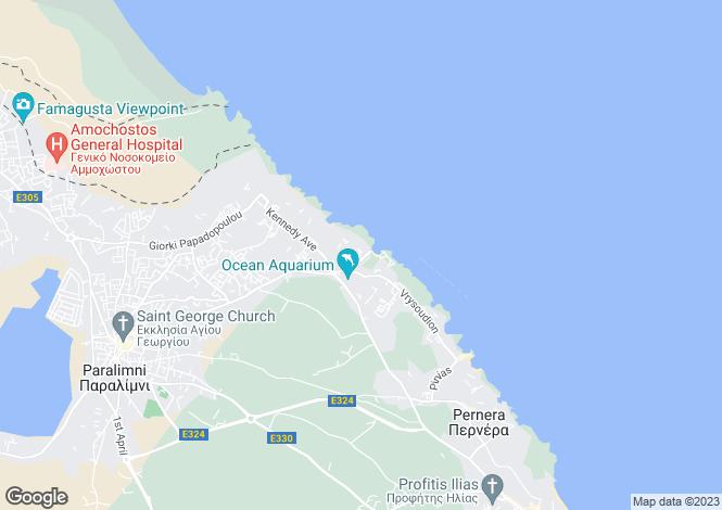 Map for Ayia Triada, Famagusta