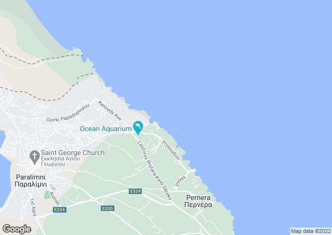 Map for Ayia Triada, Famagusta, Cyprus