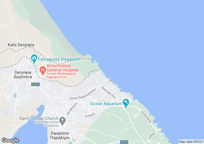 Map for Kapparis