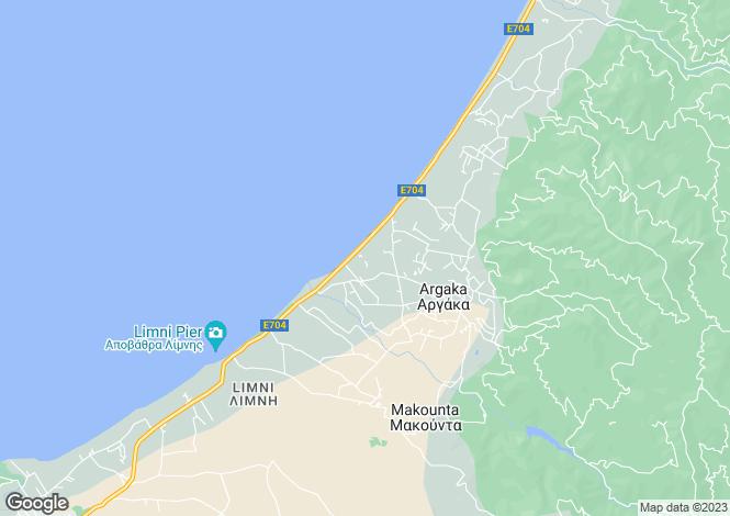 Map for Argaka - Polis - Cyprus