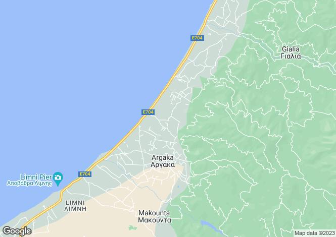 Map for Polis, Paphos