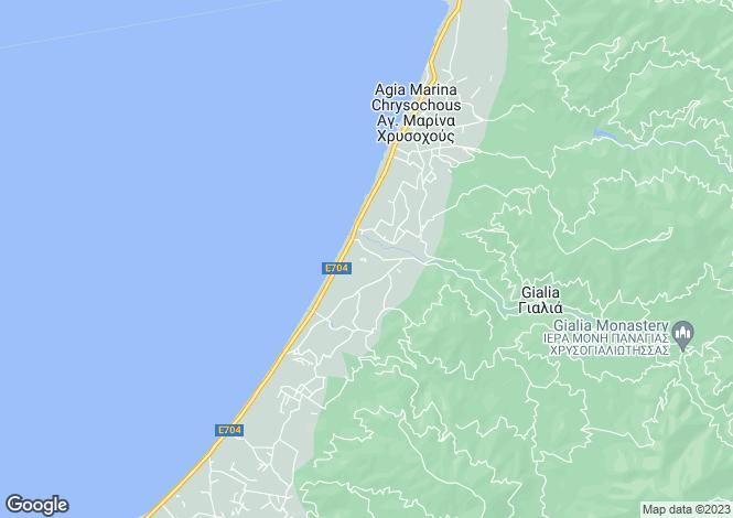 Map for Ayia Marina, Paphos