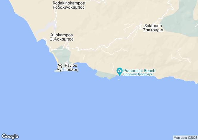 Map for Crete, Rethymnon, Melampes