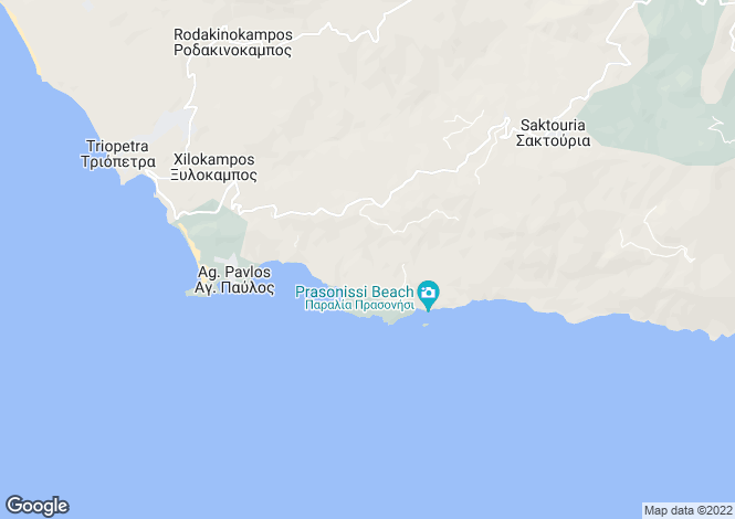 Map for Lampis, South Crete, Greece