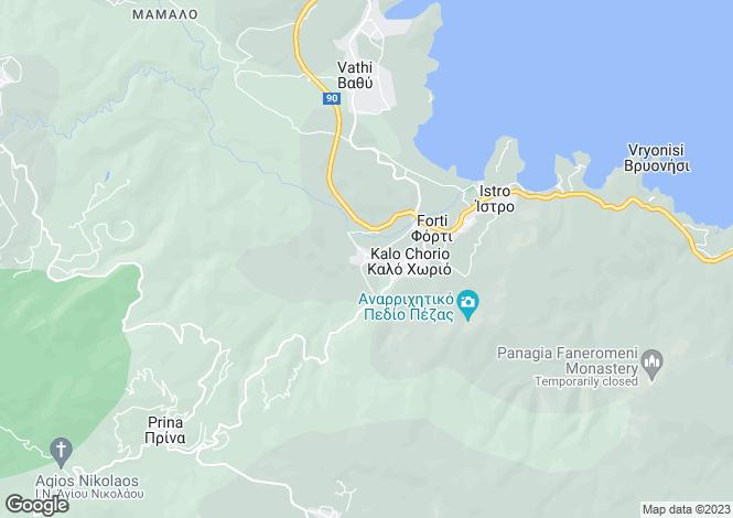 Map for Kalo Chorio, Lasithi, Crete