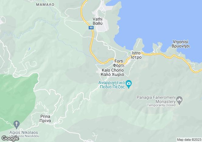 Map for Crete, Lasithi, Kalo Chorio