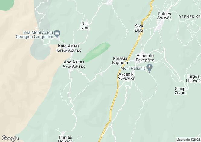 Map for Kato Asites, Iraklion, Crete