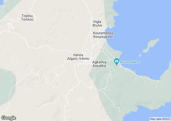Map for Crete, Heraklion, Palekastro