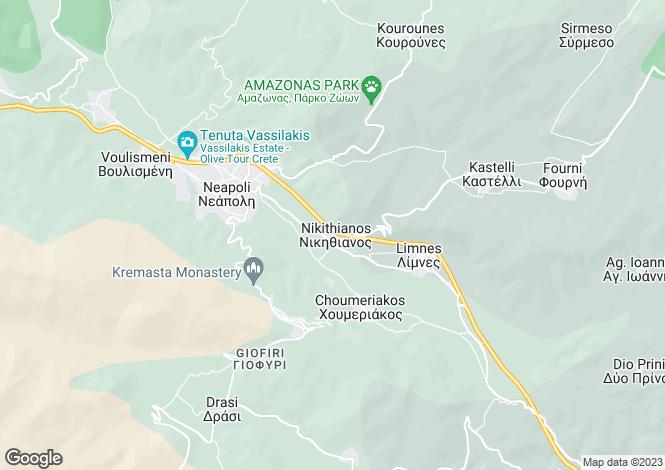 Map for Limnes, Lasithi, Crete