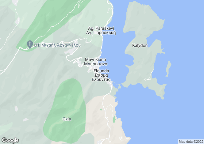 Map for Crete, Lasithi, Elounda