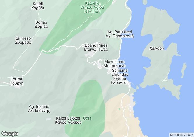 Map for Crete, Lasithi, Epano Elounta