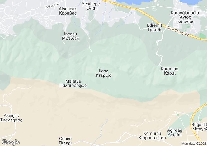 Map for Ilgaz