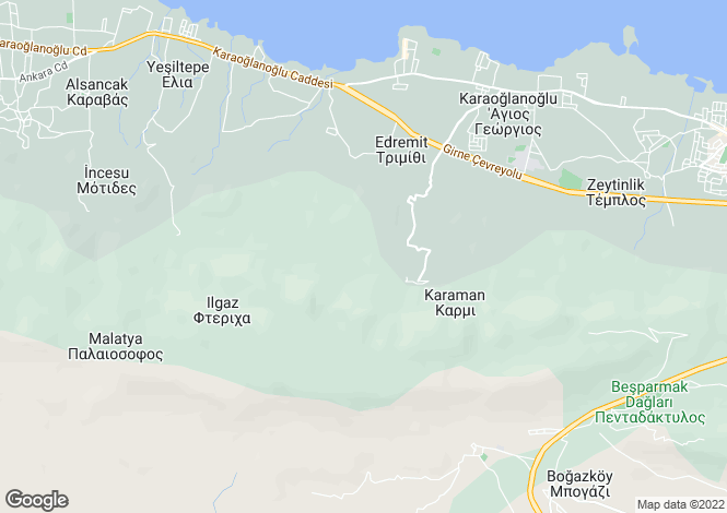 Map for Karmi, Girne