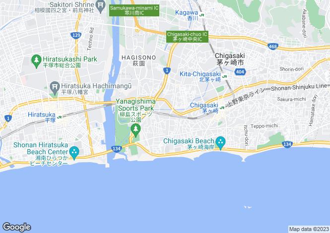 Map for Chiba, Matsuo