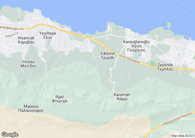 Map for Karmi, Girne