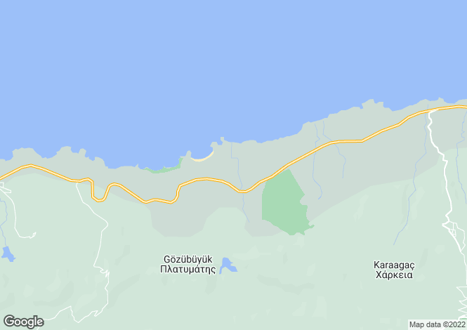 Map for Girne, Alagadi