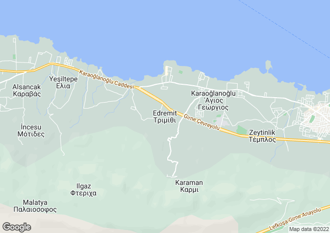 Map for Edremit