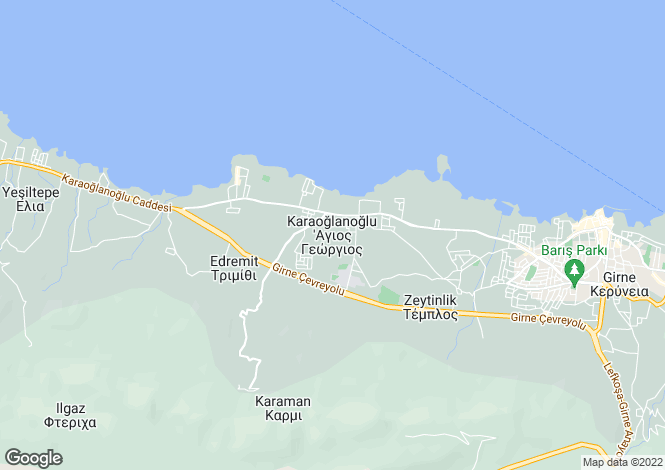 Map for Karaoglanoglu