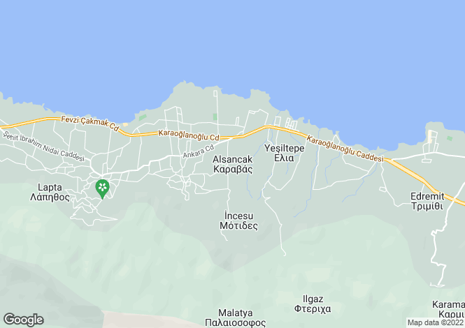 Map for Alsancak