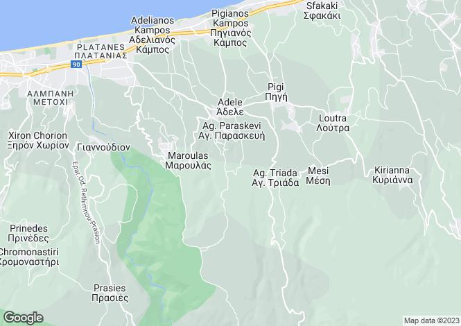 Map for Plakoti Village, Anatoli 12a