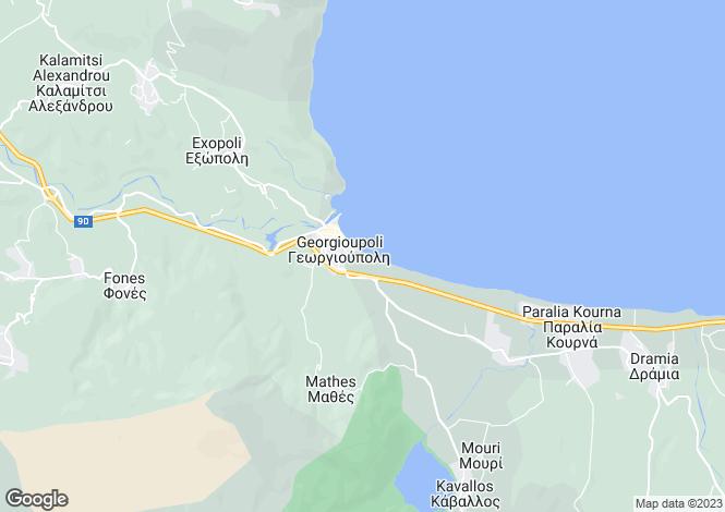 Map for Georgioupoli, Chania, Crete