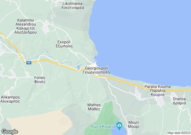 Map for Georgioupoli, Chania, Greece