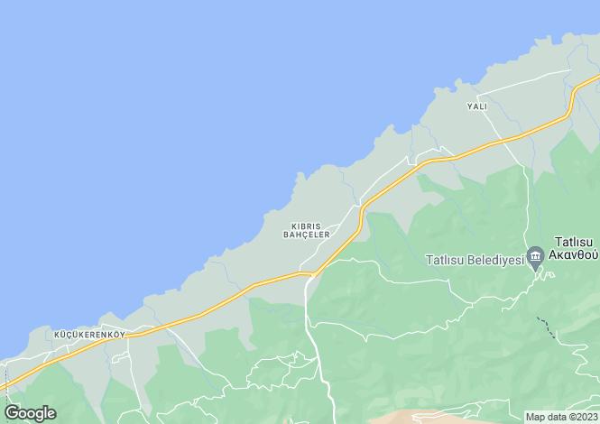 Map for Esentepe, Girne