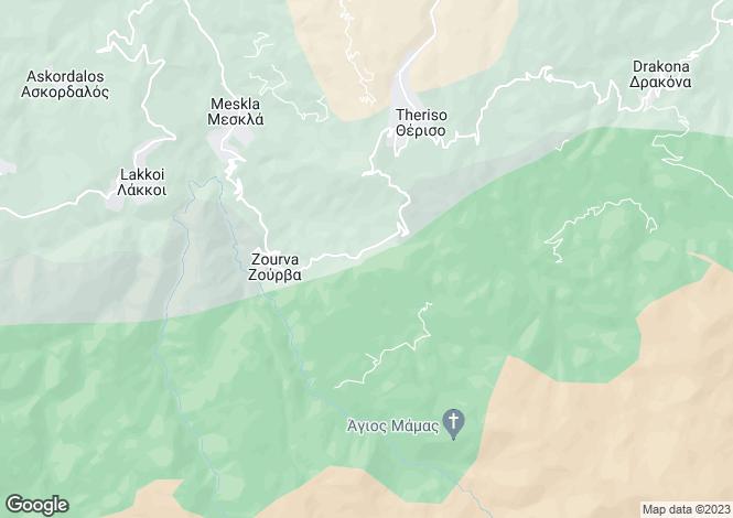 Map for Meskla, Chania, Crete