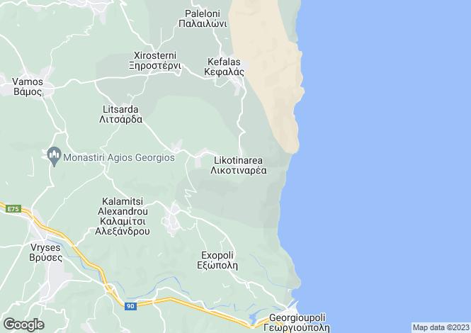Map for Litsarda, Crete, Greece