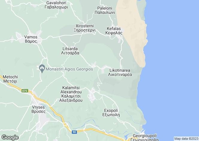 Map for Sellia, Chania, Greece