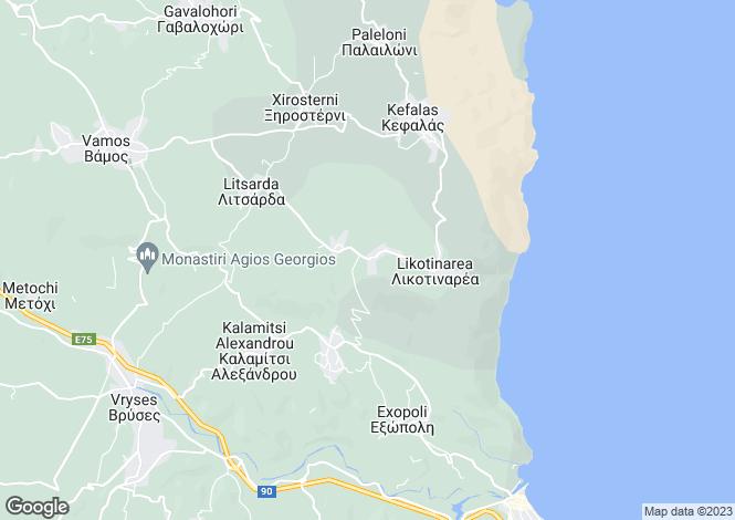 Map for Sellia, Crete, Greece